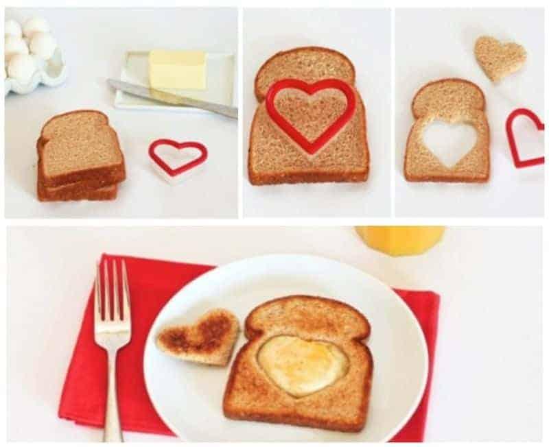 Valentine's toast