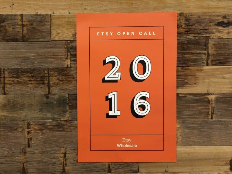 Etsy Open Call 2016