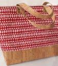 bolsos shopper corcho y algodón